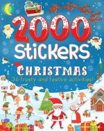 2000 Stickers Christmas