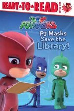 Pj Masks Save the Library!: Ready-To-Read Level 1