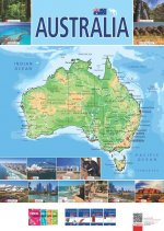 Mapa – Australia