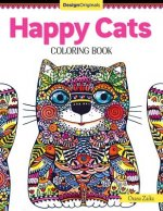 Happy Cats Coloring Book