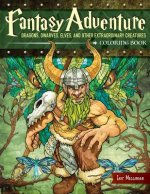Fantasy Adventure Coloring Book