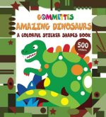 Dinosaurs: A Colorful Sticker Shapes Book