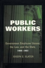 Public Workers: Government Employee Unions, the Law, and the State, 1900 1962