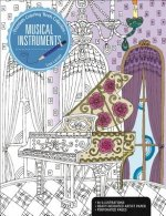Musical Instruments: A Premium Coloring Book