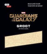Incredibuilds: Marvel: Guardians of the Galaxy Groot 3D Wood Model
