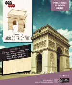 Incredibuilds: Paris: ARC de Triomphe 3D Wood Model