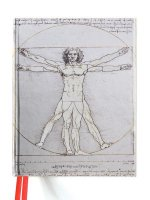 Vitruvian Man Blank Sketch Book