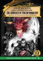 Warlock of Firetop Mountain Colouring Book