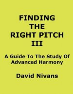 Finding The Right Pitch III