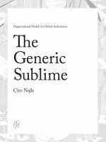 The Generic Sublime