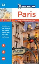 Michelin Paris by Arrondissements Pocket Atlas #62