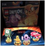 LEGO Dimensions, Team Pack, Adventure Time, 4 Figuren