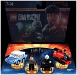 LEGO Dimensions, Team Pack, Harry Potter, 4 Figuren