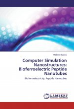Computer Simulation Nanostructures: Bioferroelectric Peptide Nanotubes