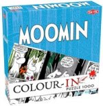 Colour In Puzzle 1000 Piece Moomin