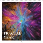 FRACTAL YEAR (Wall Calendar 2017 300 × 300 mm Square)