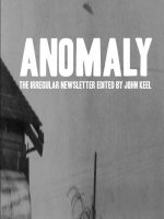 Anomaly - The Irregular Newsletter Edited by John Keel