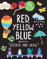 Sticker and Draw Red, Yellow, Blue