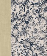 Ceb Wide-Margin Navy Floral Bible: For Journaling and Note-Taking