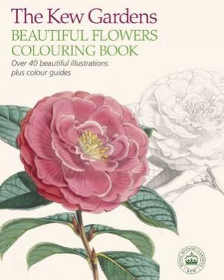 Kew Gardens Beautiful Flowers Colouring Book