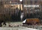 BLANCHEUR (Calendrier mural 2017 DIN A4 horizontal)