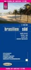 World Mapping Project Reise Know-How Landkarte Brasilien, Süd (1:1.200.000)