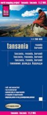 World Mapping Project Reise Know-How Landkarte Tansania, Ruanda, Burundi (1:1.200.000)
