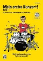 Mein erstes Konzert!, für Schlagzeug, m. 1 Mitspiel--CD