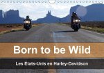 Born to be wild - Les États-Unis en Harley-Davidson (Calendrier mural 2017 DIN A4 horizontal)