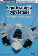 Naučné karty Nejúchvatnější typy letadel