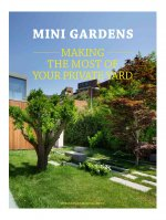 Mini Gardens: Making the Most of Your Private Yard