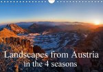 Landscapes from Austria in the 4 Seasons 2017