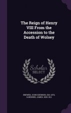 Reign of Henry VIII from the Accession to the Death of Wolsey