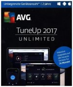 AVG TuneUp Unlimited 2017, 1 DVD-ROM