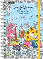 Cal 2017 Cheerful Journey 2017 Engagement Planner - Spiral (Coloring)