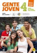 GENTE JOVEN 4 NUEVA EDICION LIBRO DEL ALUMNO CD