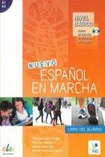 Nuevo Espanol en marcha basico A1+A2 Podrecznik + CD