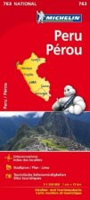 Michelin Nationalkarte Peru 1 : 1 500 000