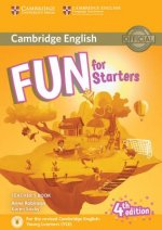 Fun for Starters Teacher's Book 4th edition