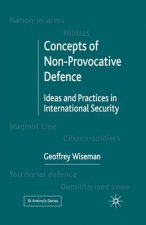 Concepts of Non-Provocative Defence: Ideas and Practices in International Security
