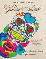 The Tattoo Art of Freddy Negrete: A Coloring Book for Adults