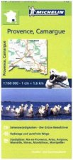 Michelin Zoomkarte Provence - Camargue 1 : 160 000