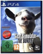 Goat Simulator, The Bundle, 1 PS4-Blu-ray Disc