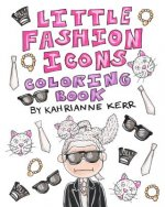 Little Fashion Icons Coloring Book