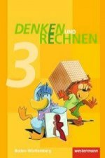 Denken und Rechnen 3. Schülerband. Grundschulen. Baden-Württemberg