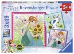 Frozen Fever (3 X 49 PC Puzzles)