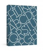 House Industries Alphabet Cloth-Covered Journal