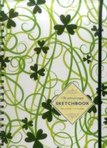 Sketchbook: Shamrock: 128-Page Unlined Pages