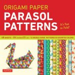 Origami Paper - Parasol Patterns - 8 1/4 inch - 48 Sheets