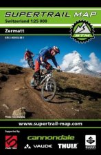 Supertrail Map Zermatt